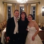 Liz Hendry wedding pianist with Jessica Belll at Overwater hall