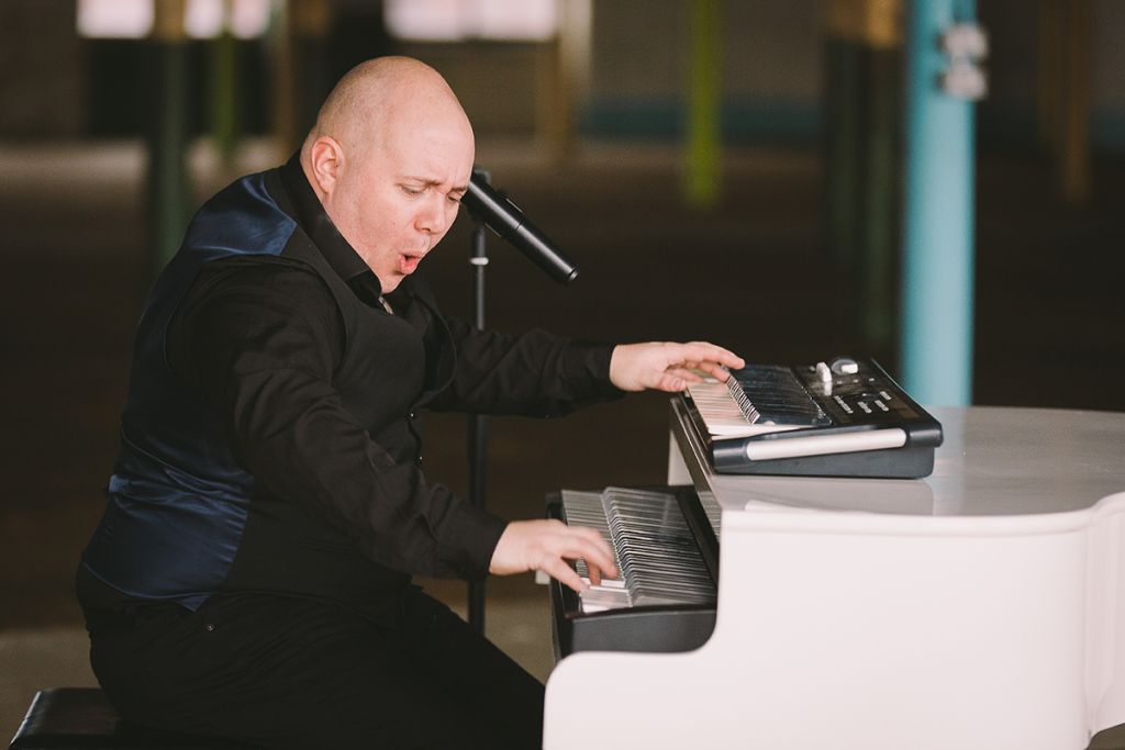 Wedding song – All of Me – performed by Mark Hendry