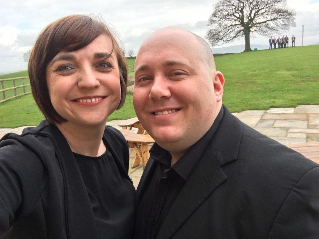 Mark & Liz Hendry Wedding musicians at Heaton House Farm