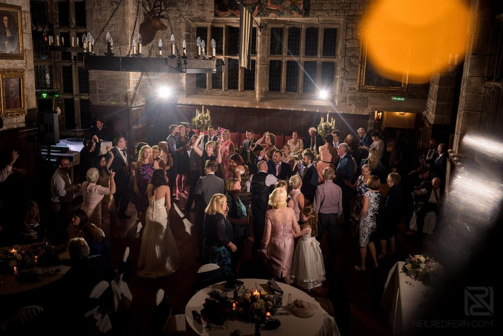 Duelling pianos wedding music at Houghton Tower