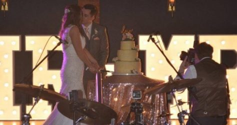 Mr and Mrs Tipping wedding at Bartle Hall