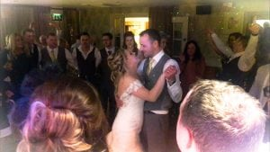Mr and Mrs Lenihan's first dance accompanied by The Live Piano Experience Ultimate Duelling Pianos Show