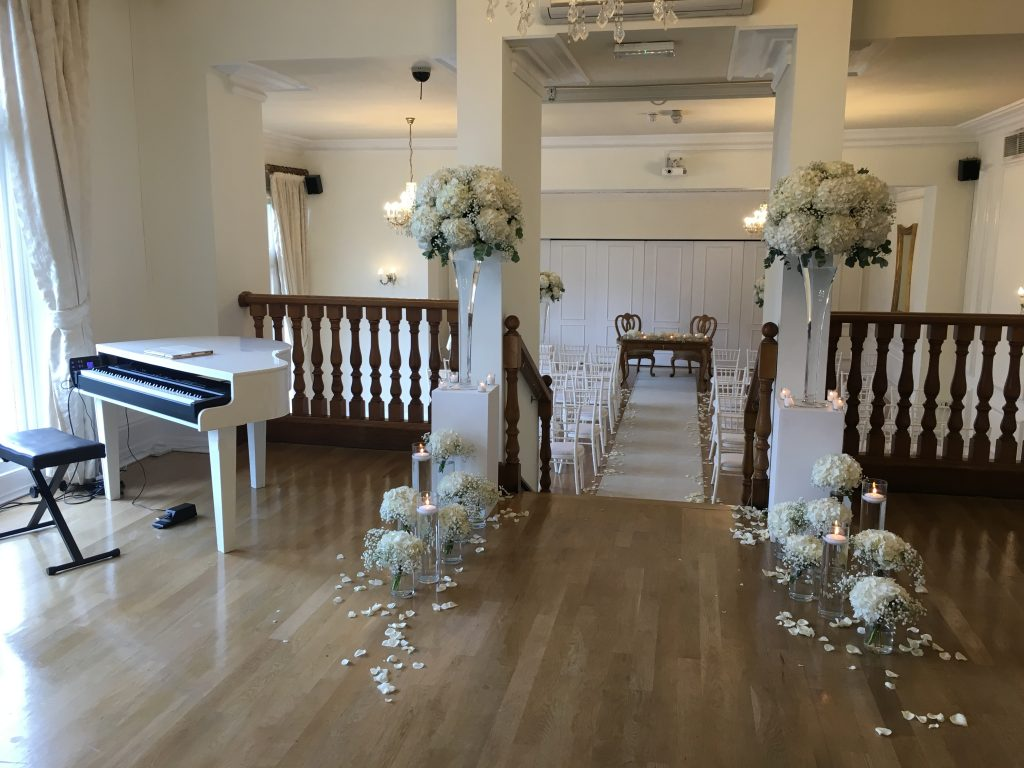 wedding music in Lancashire. West tower wedding ceremony