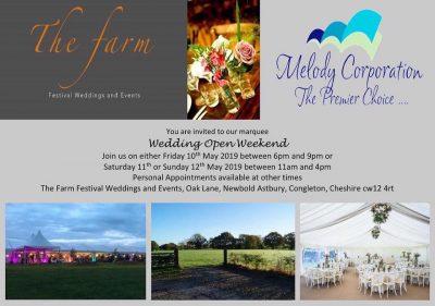 The Farm Wedding open weekend