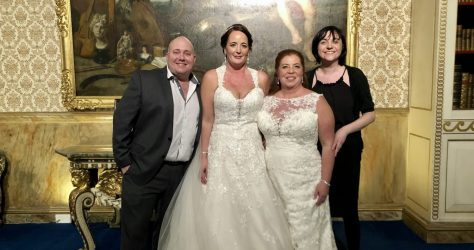 Sharin & Anna Martinez wedding at Knowsley hall