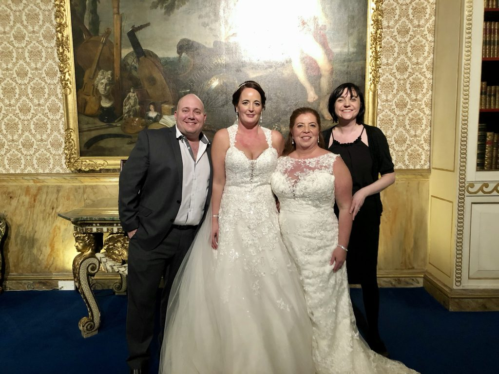 Sharin & Anna Martinez wedding at Knowsley hall