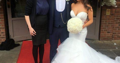 Liz Hendry wedding pianist with Ashleigh and Arran