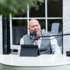 Mark the piano guy at Statham Lodge