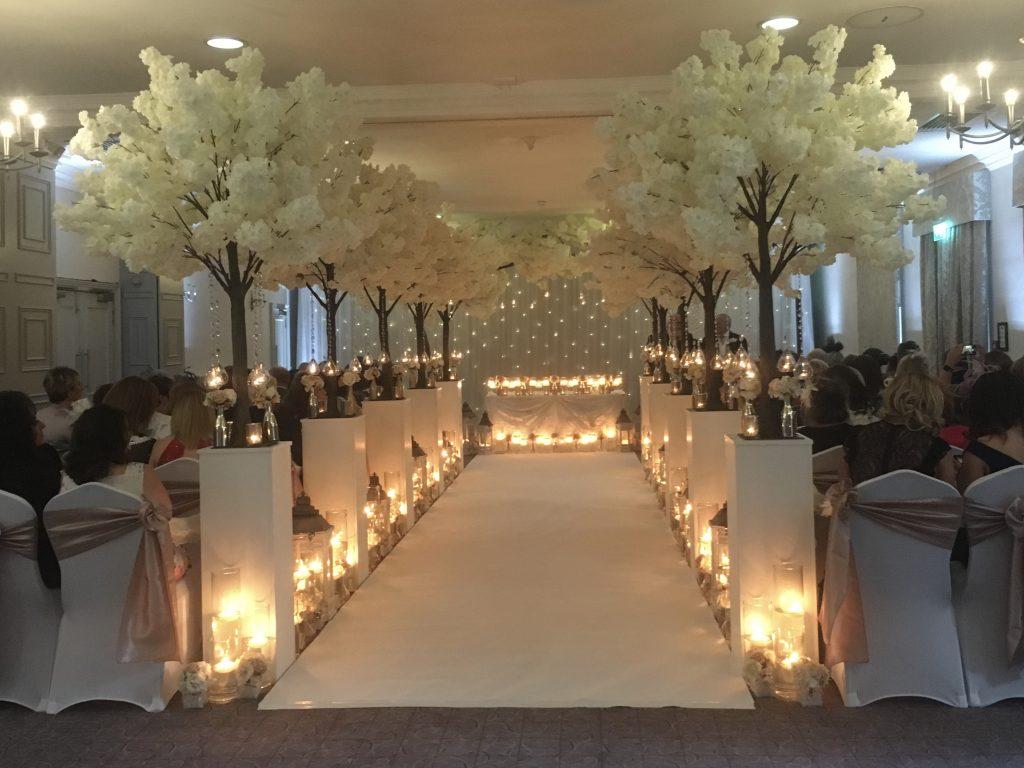 Mottram Hall weddings St Andrews Suite dressed by Lasting Memories and events