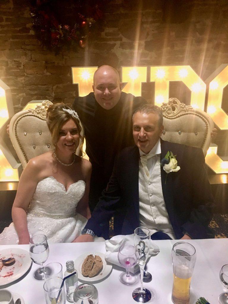 Mr & Mrs Hatton, Mark the Piano Guy at Lancashire Manor