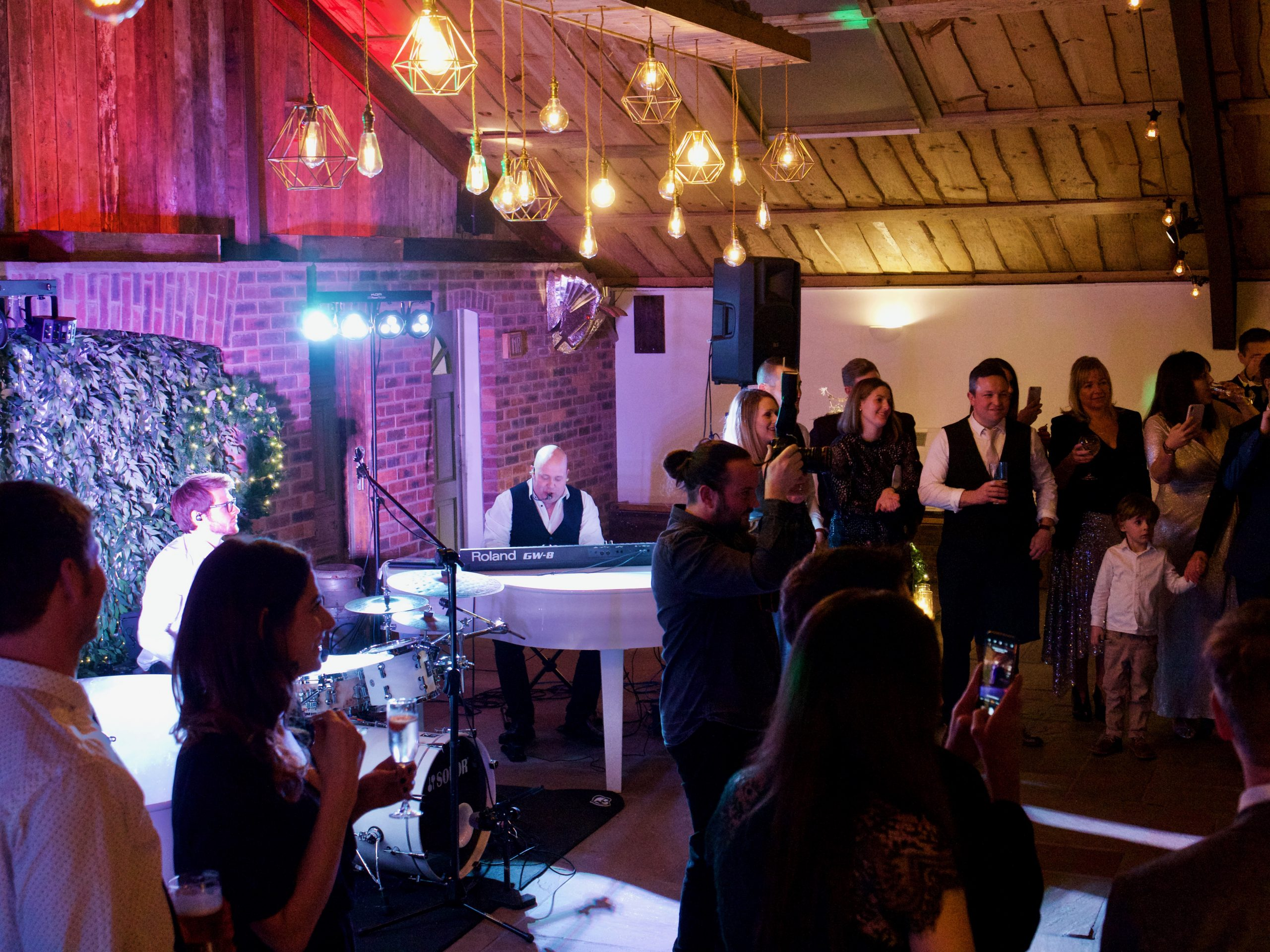 Owen House Barn with wedding music from PianoJam XL