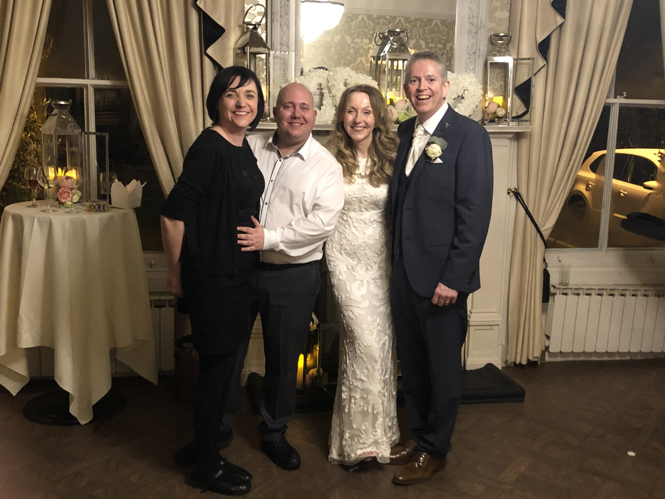 Mark and Liz with Mr and Mrs Zacharias