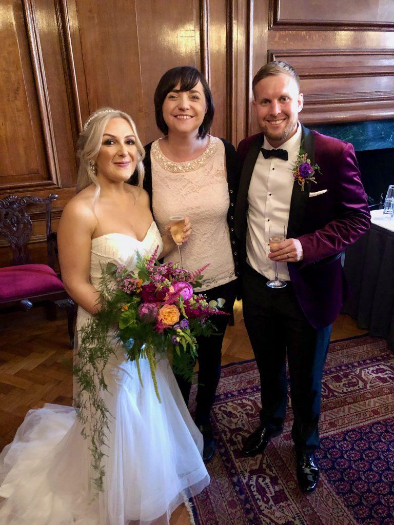 Liz Hendry Wedding Pianist at a Manchester Wedding - Manchester Hall