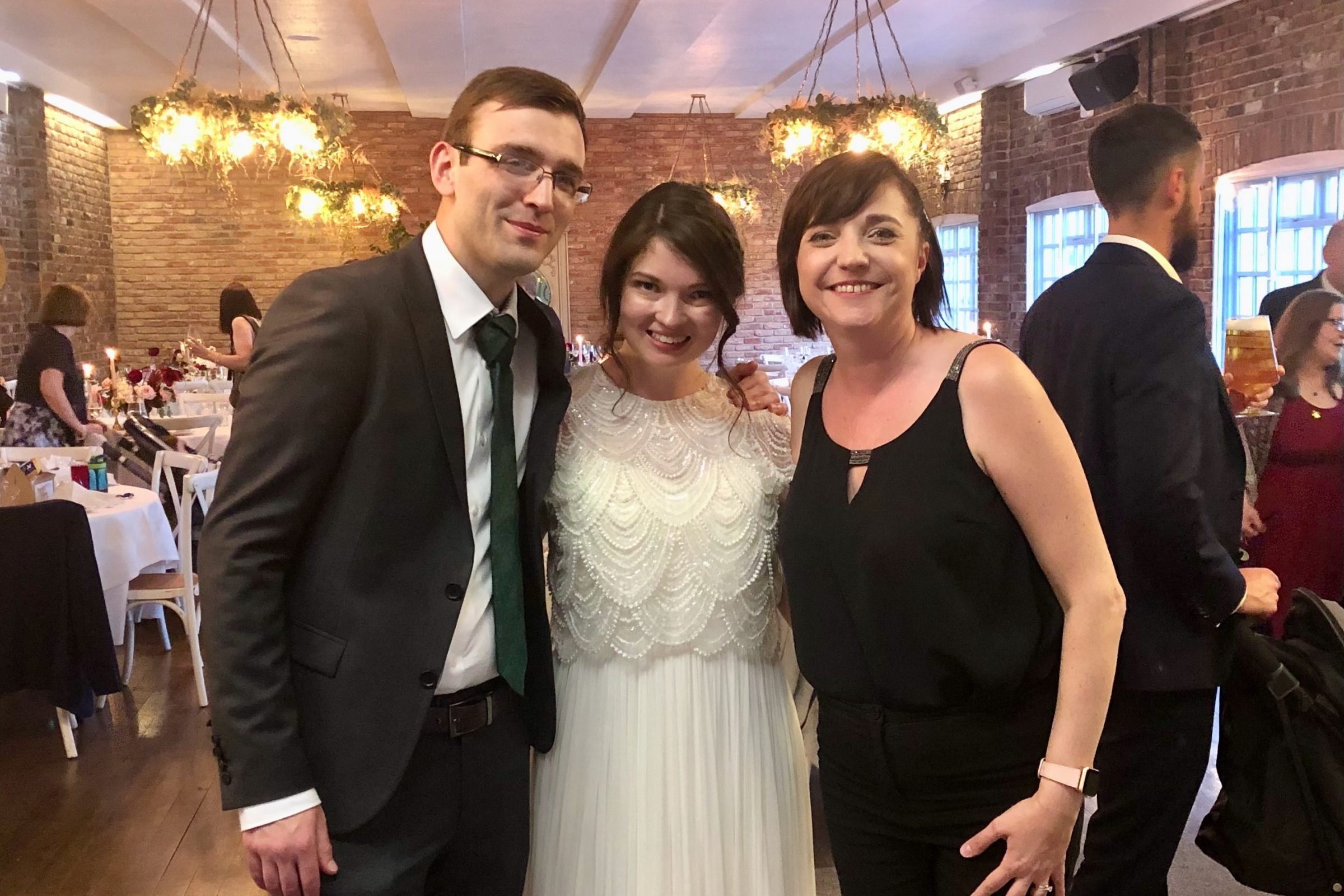Liz Hendry Wedding Pianist with Rachel and Carl at their Larkspur Lodge Wedding